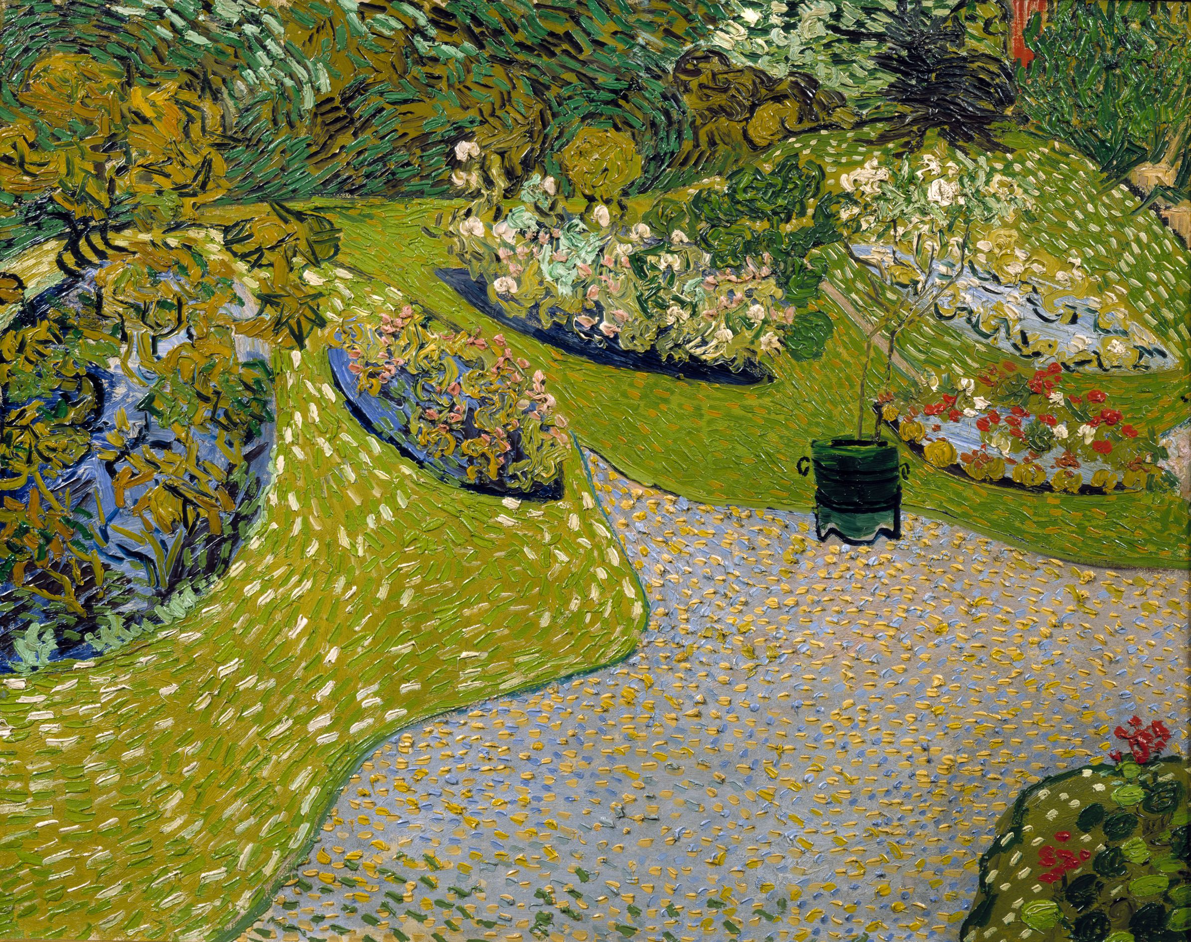 Van Gogh Garten in Auvers