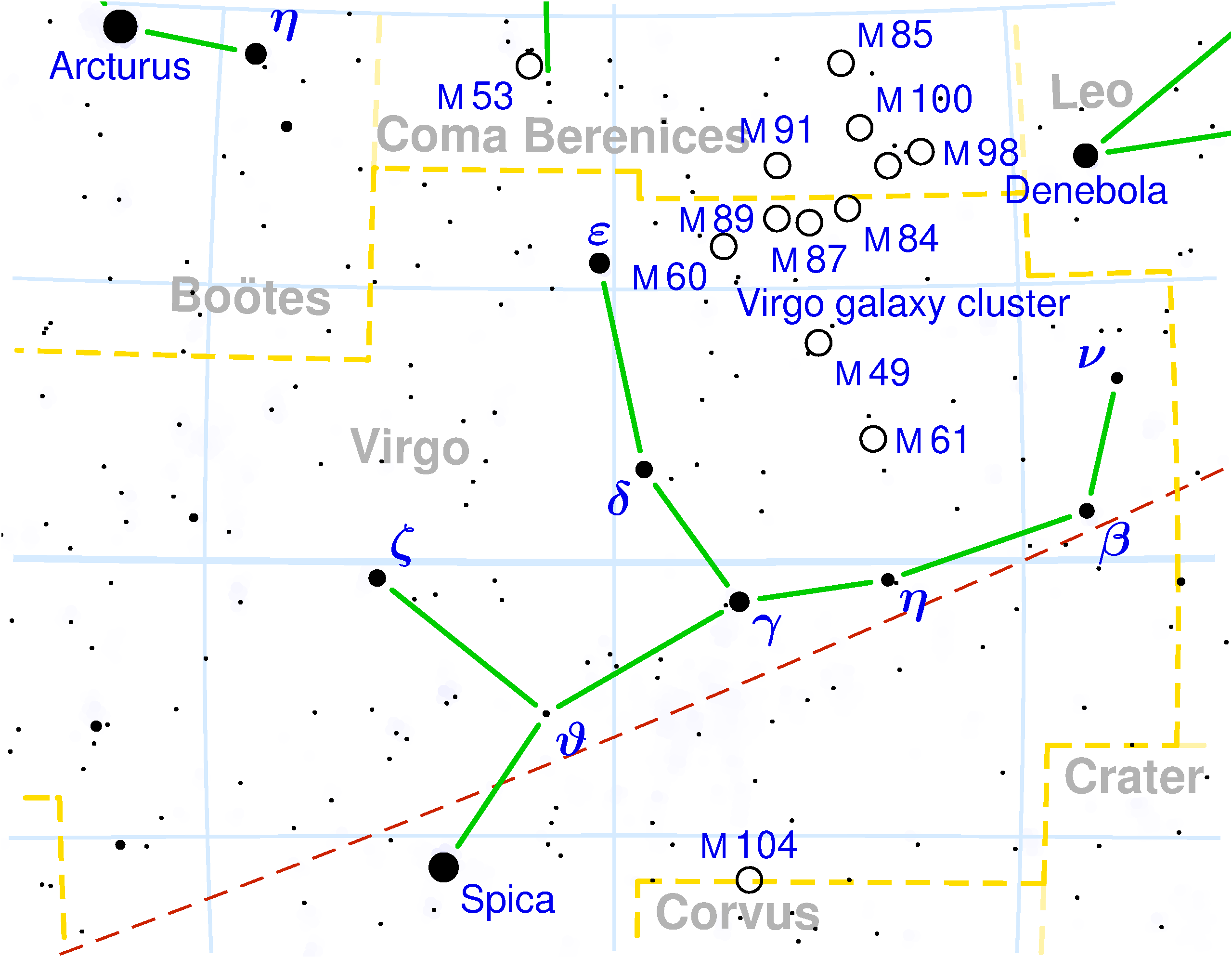 File Virgo Constellation Map Png