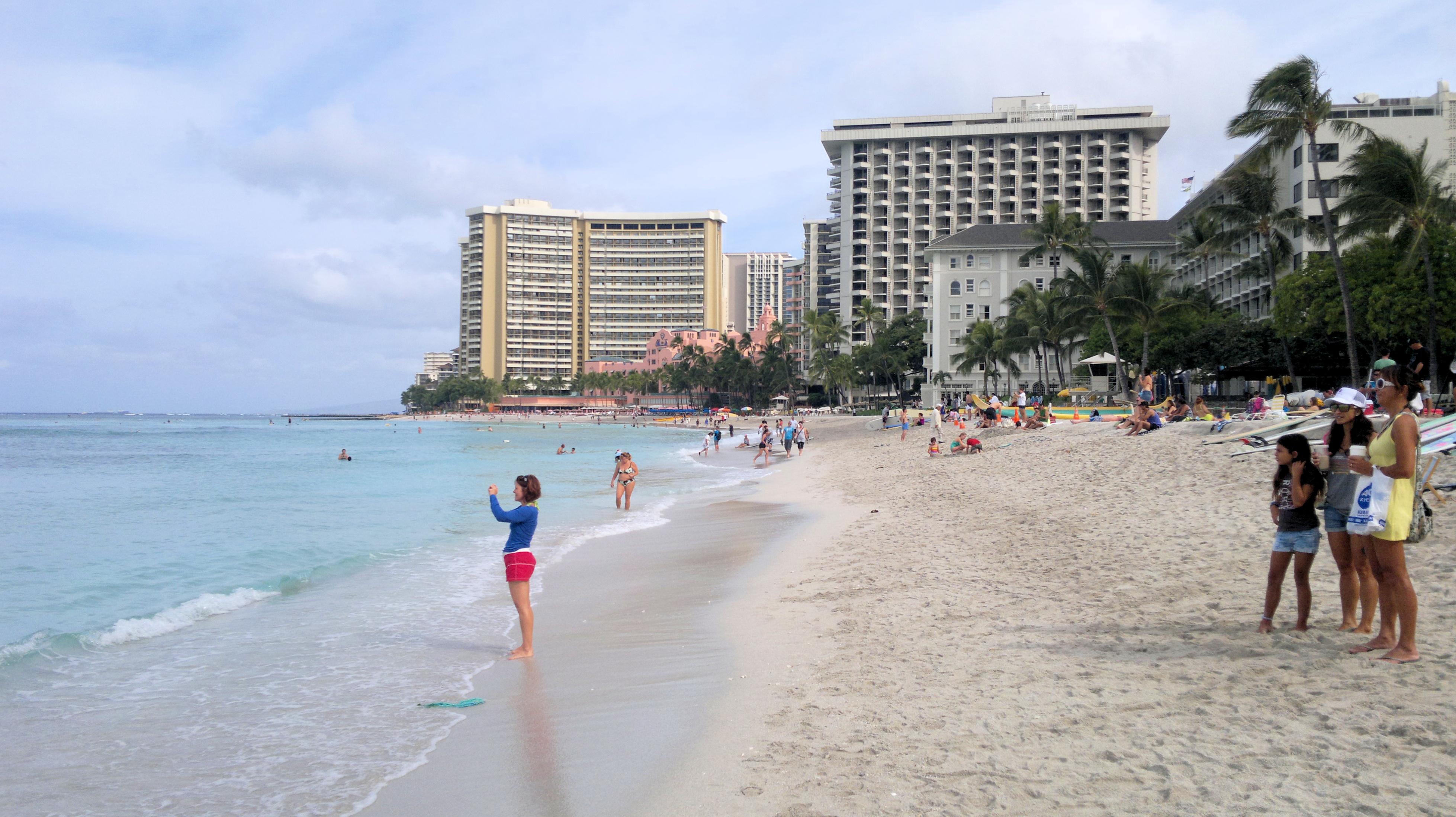 Marriott Waikiki Beach Resort Map