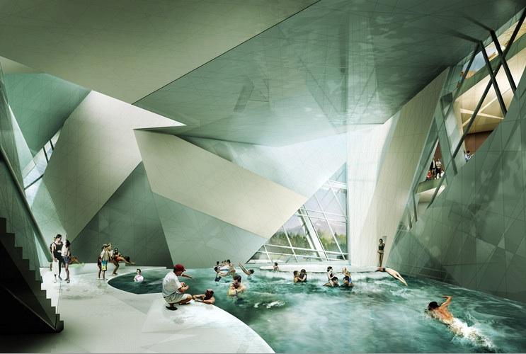 Deconstructive Architecture Interior Design
