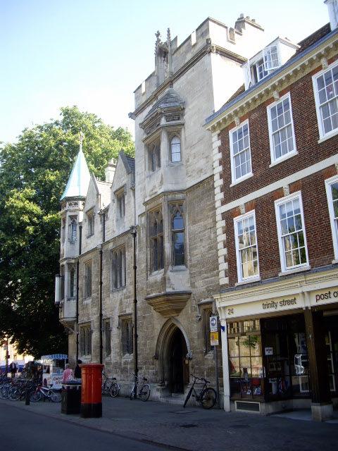 trinity college cambridge geography essay