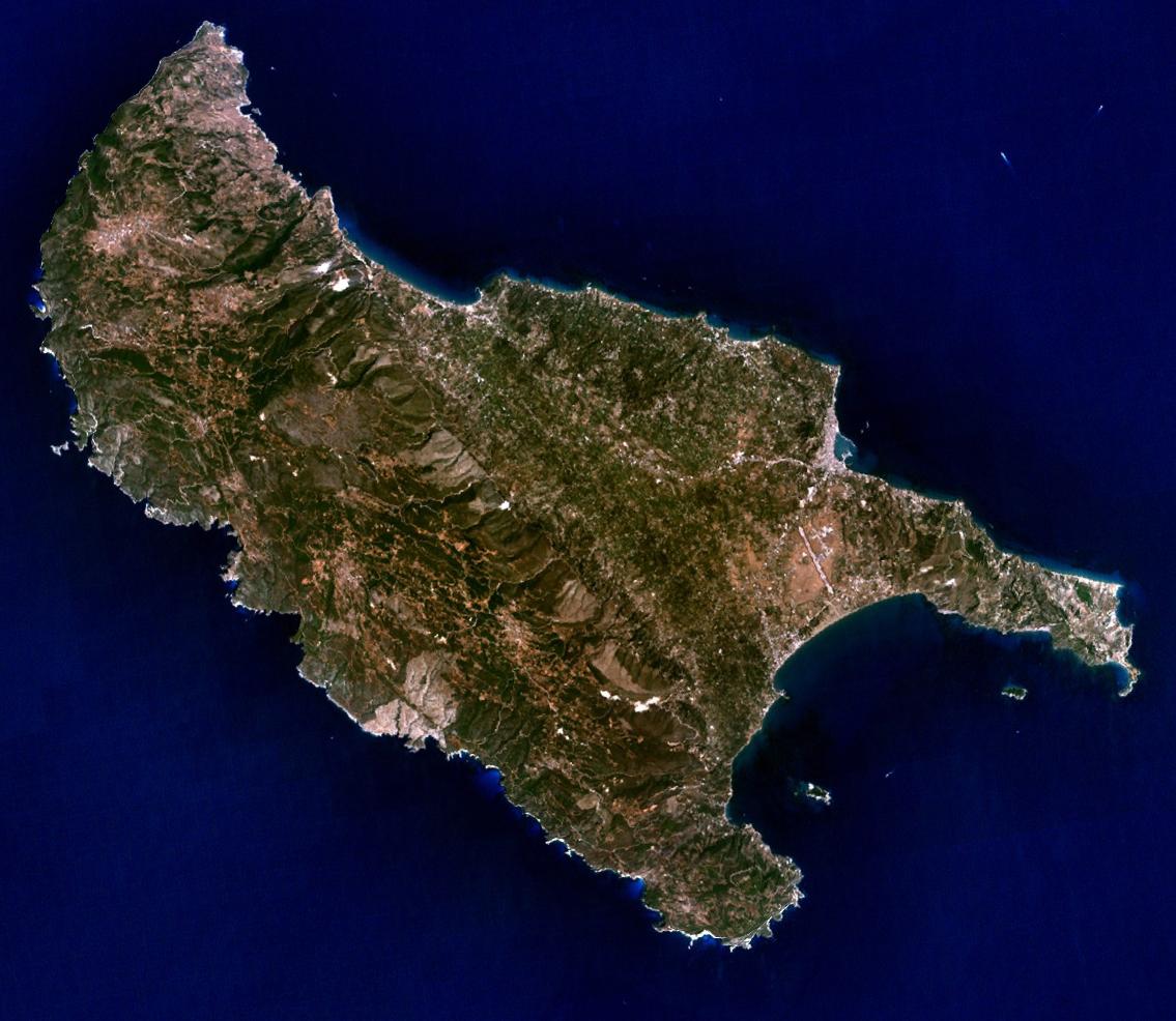 Nasa Image von Zakynthos