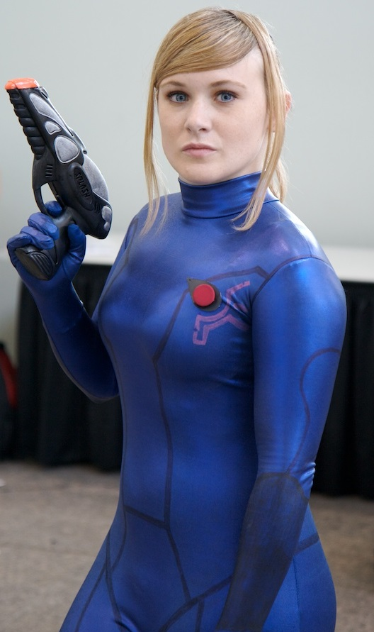 Consider, that samus aran zero suit cosplay good