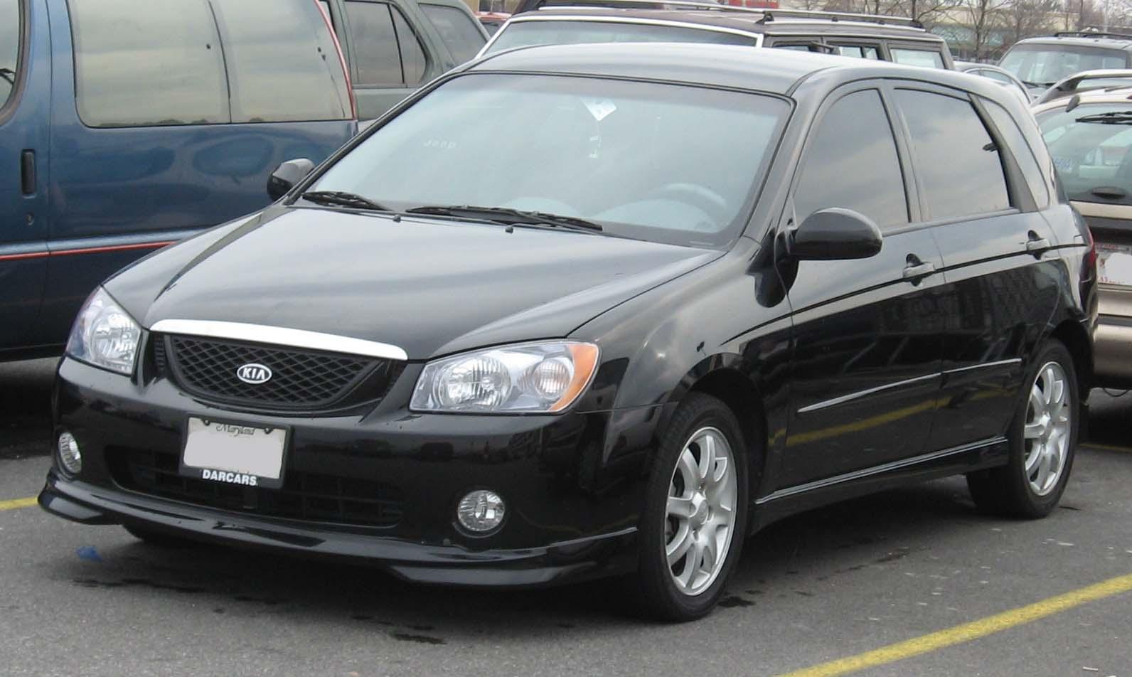 2007 kia spectra 5 tire size