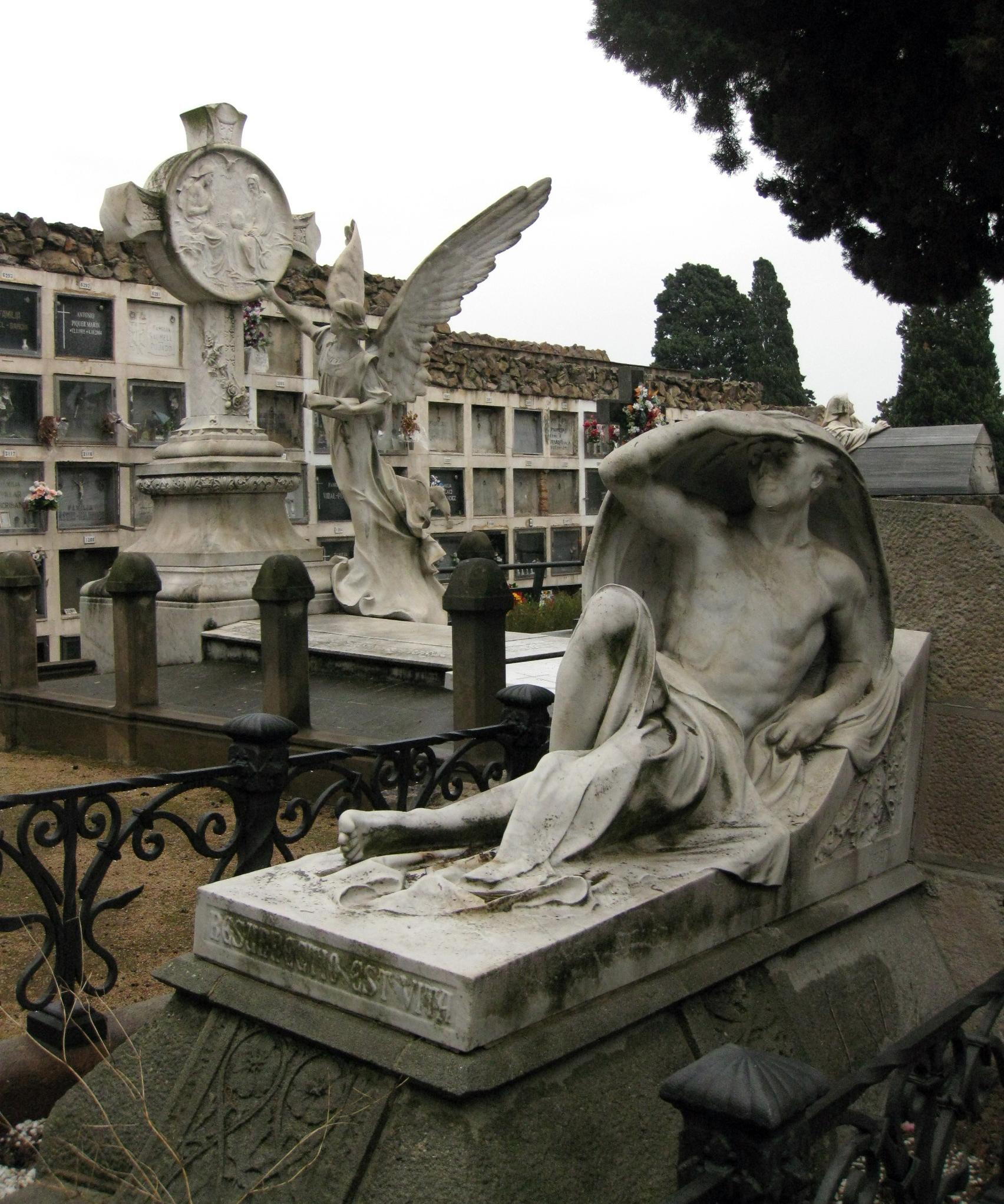 File 082 Tomba de Maria Bueno escultura de Josep Rebarter
