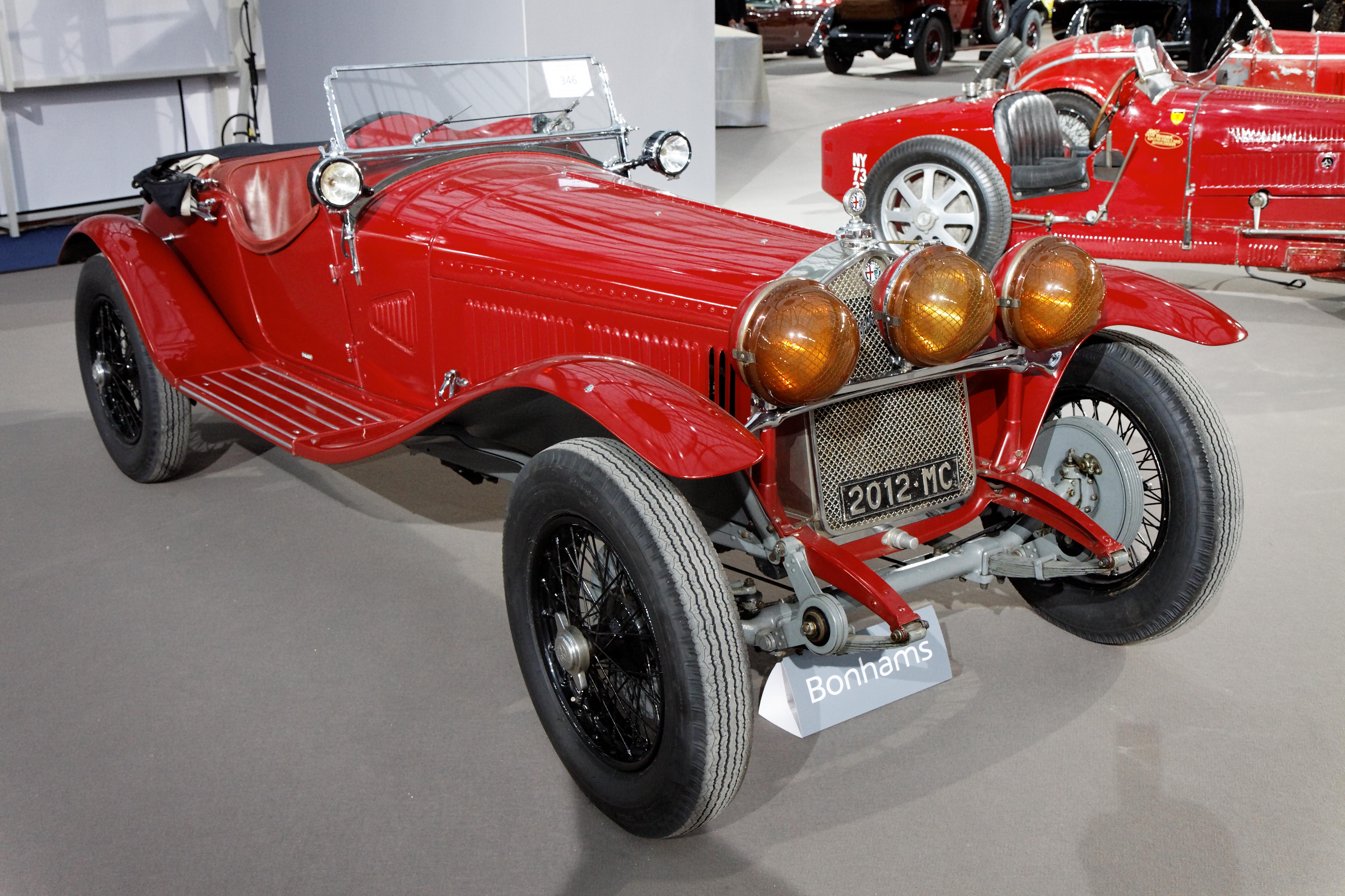 Alfa Romeo 6c >> File 110 Ans De L Automobile Au Grand Palais Alfa Romeo 6c
