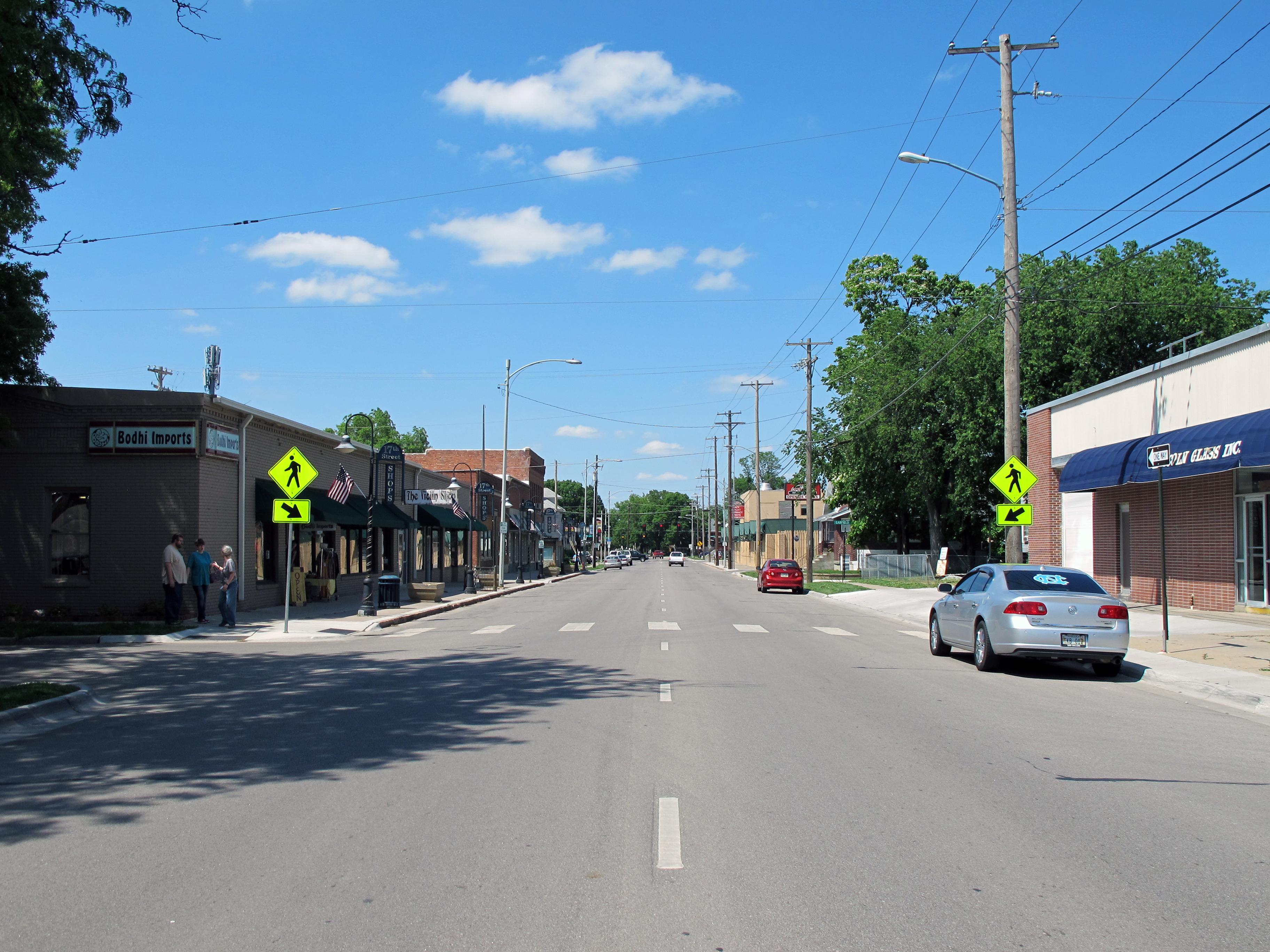 File 17th Street Shops Lincoln Nebraska Usa Jpg