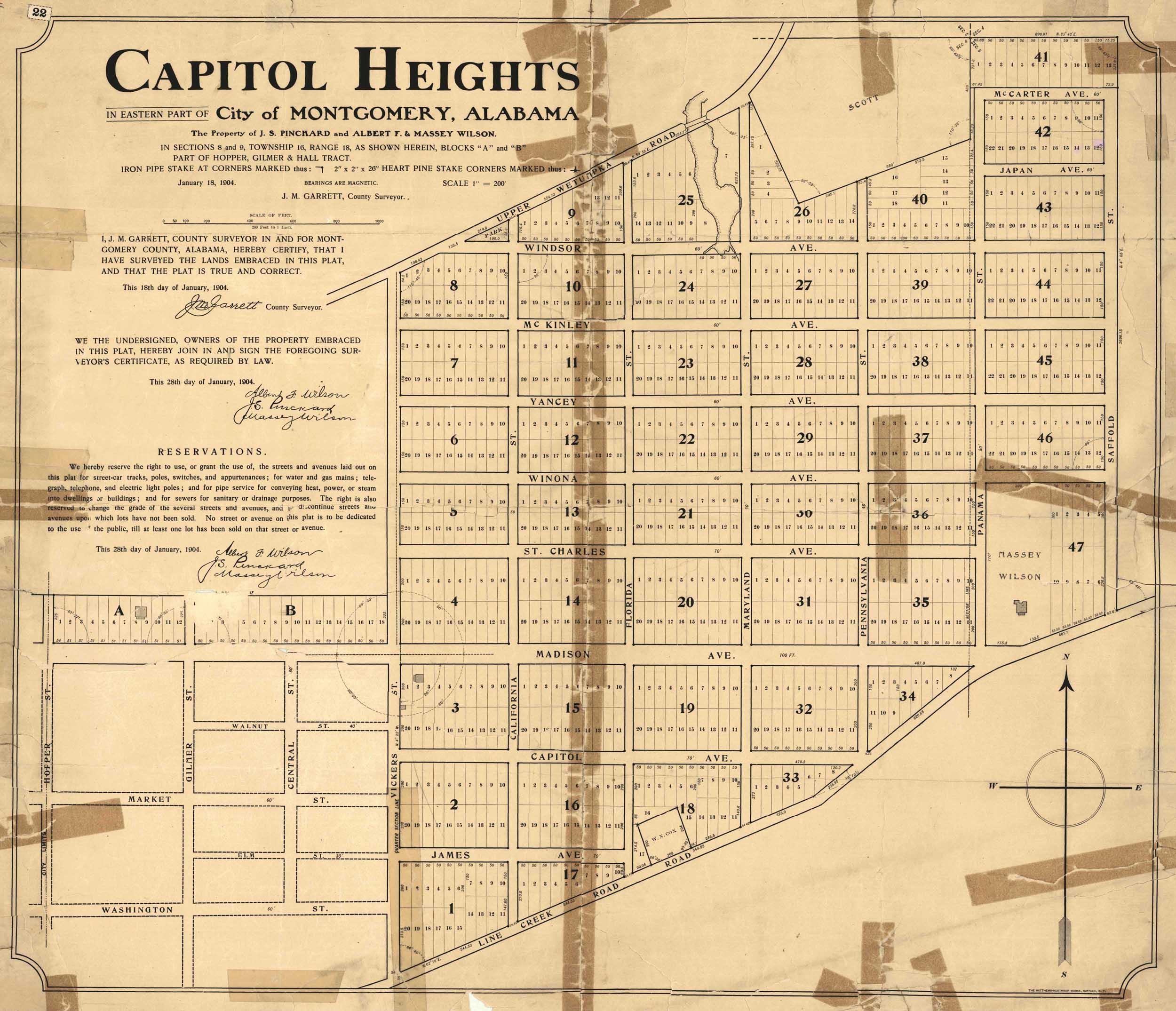 File:1904 map of Capitol Heights, Montgomery, Alabama.jpeg ... on omaha ne map, roanoke va map, milwaukee wi map, montgomery alabama, san antonio tx map, marion co alabama on map, phoenix az map, san diego ca map, trenton nj map, nashville tn map, richmond va map, montgomery tx map, st louis mo map, newport ri map, montgomery state map, erie pa map, augusta ga map, rochester ny map, oklahoma city ok map, providence ri map,