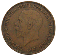 Penny (British pre-decimal coin) British pre-decimal coin worth 1/240th of a pound sterling