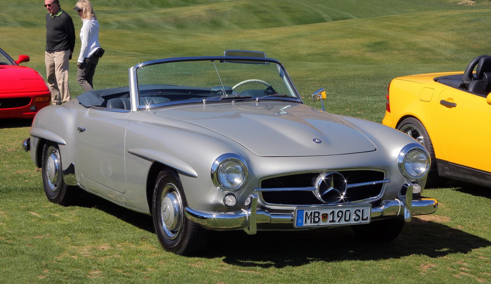 File 1961 Mercedes Benz 190 Sl Silver Fvr Jpg