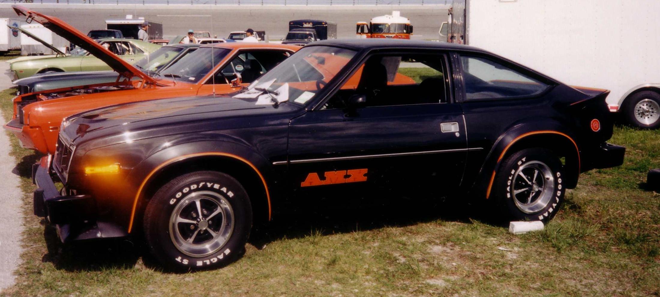 File 1980 Amc Amx Black Left Side Fl Jpg Wikimedia Commons