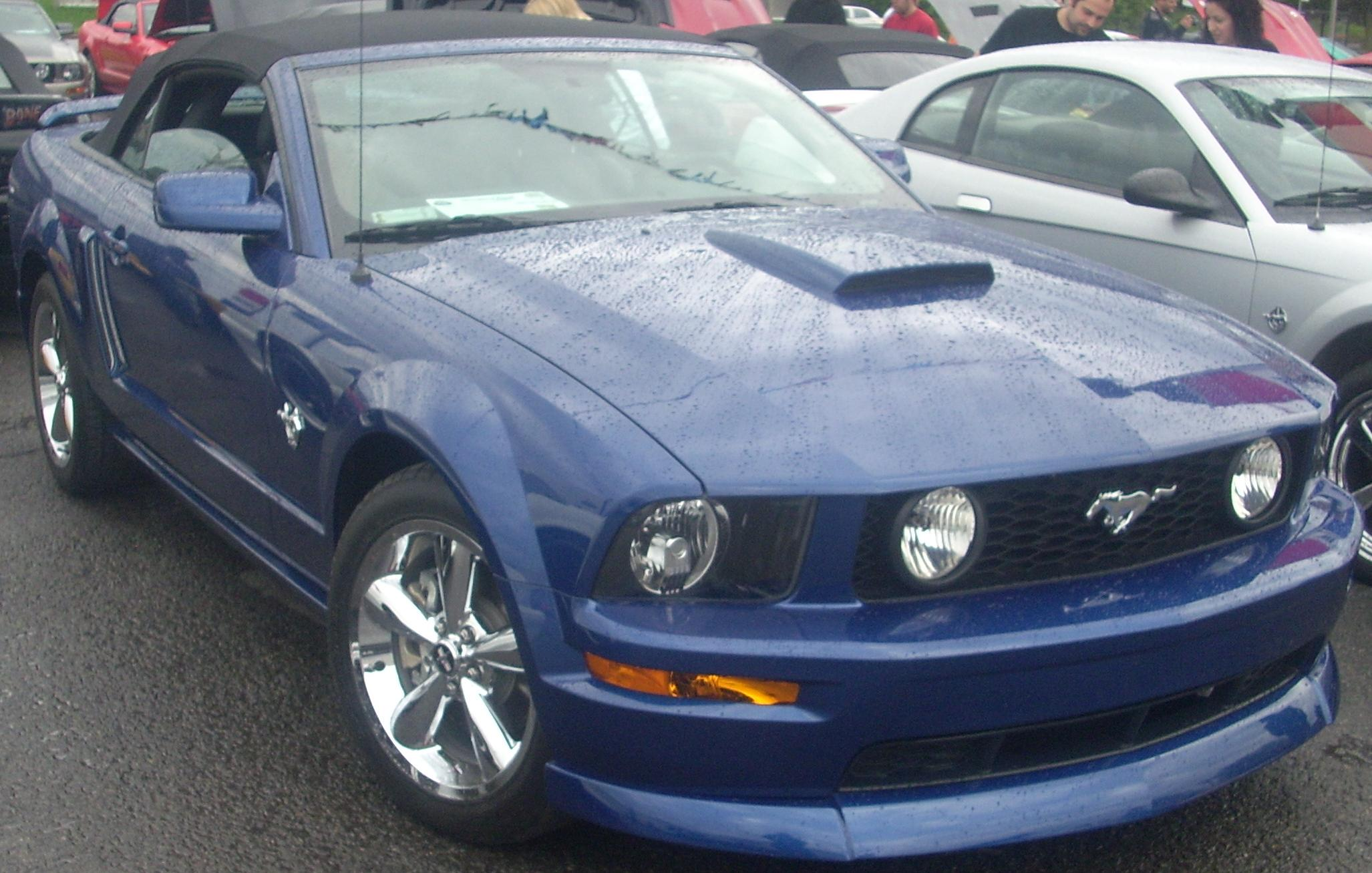 file 2005 09 ford mustang convertible sterling ford jpg wikimedia commons. Black Bedroom Furniture Sets. Home Design Ideas