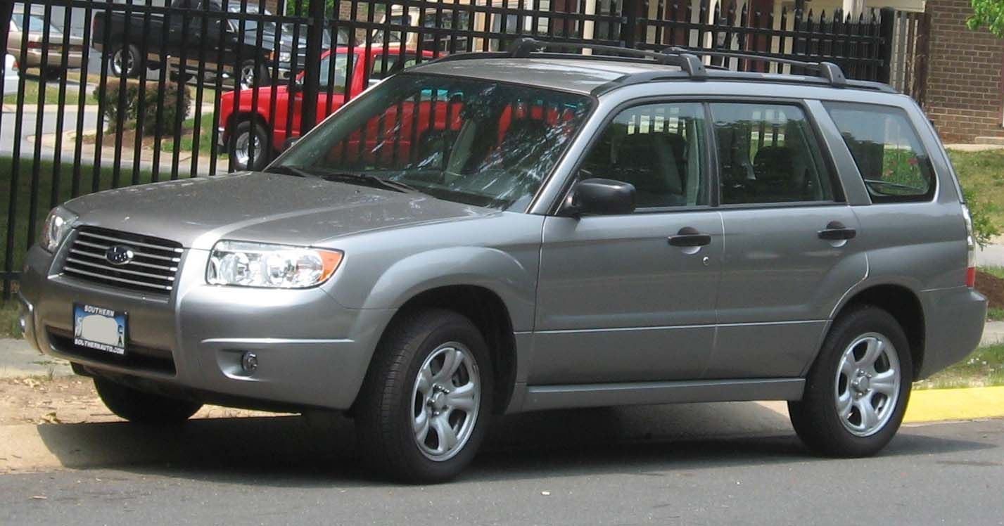 File 2006 07 Subaru Forester Jpg Wikimedia Commons
