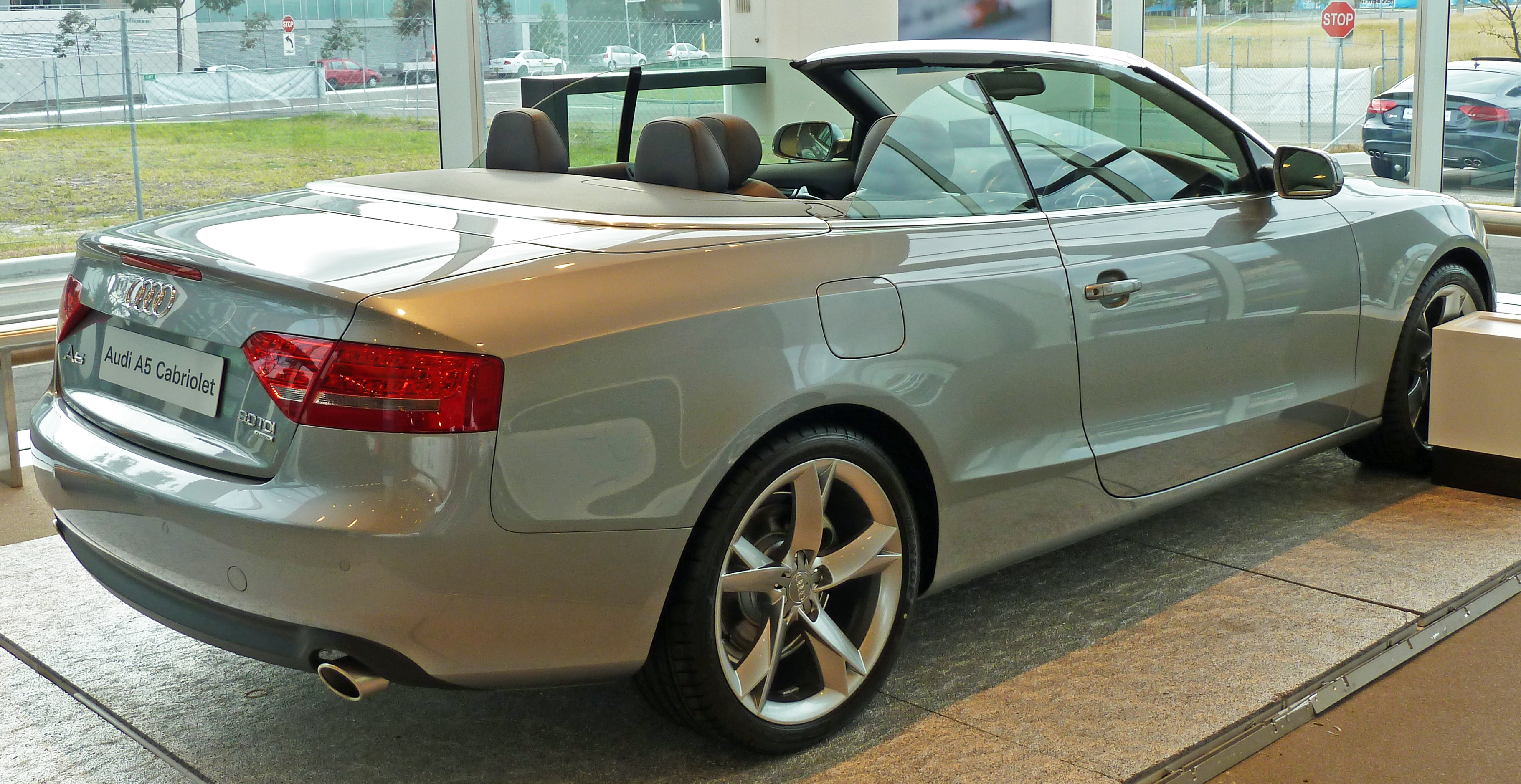 file 2010 audi a5 8f7 my10 3 0 tdi quattro convertible 2010 07 10 wikimedia commons. Black Bedroom Furniture Sets. Home Design Ideas