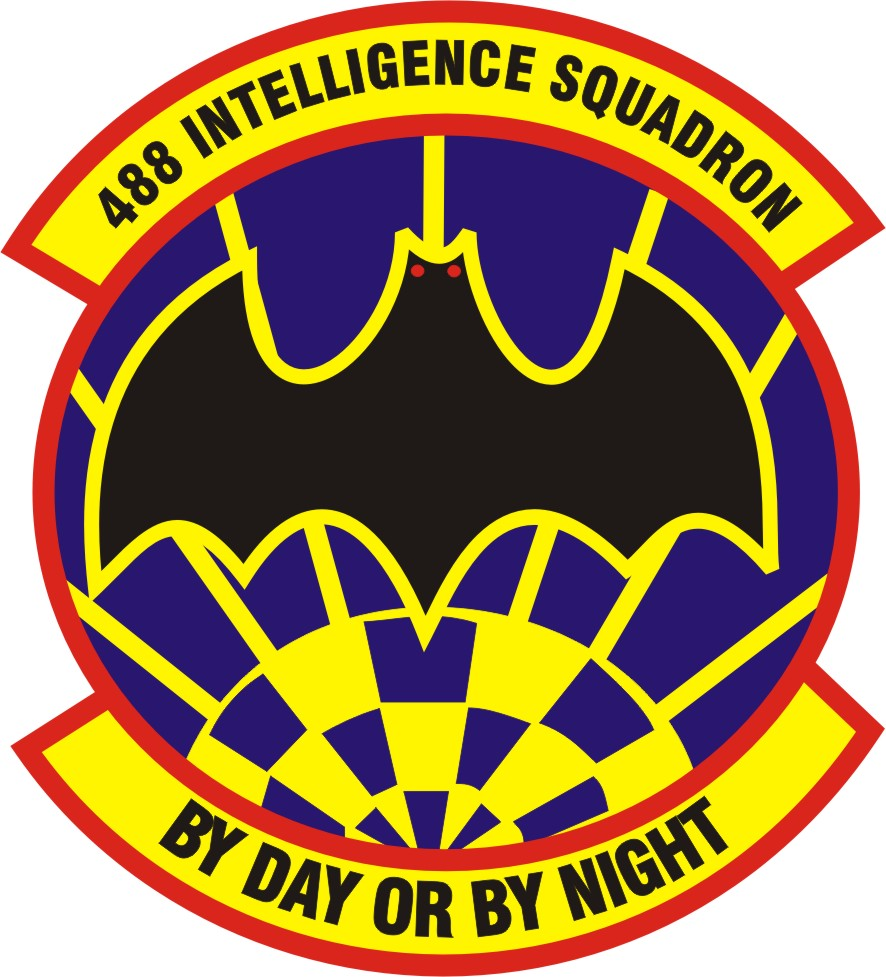 File488 Intelligence Squadron Patch