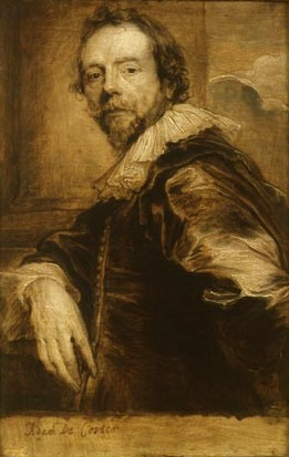 Adam de Coster door Anthony van Dyck