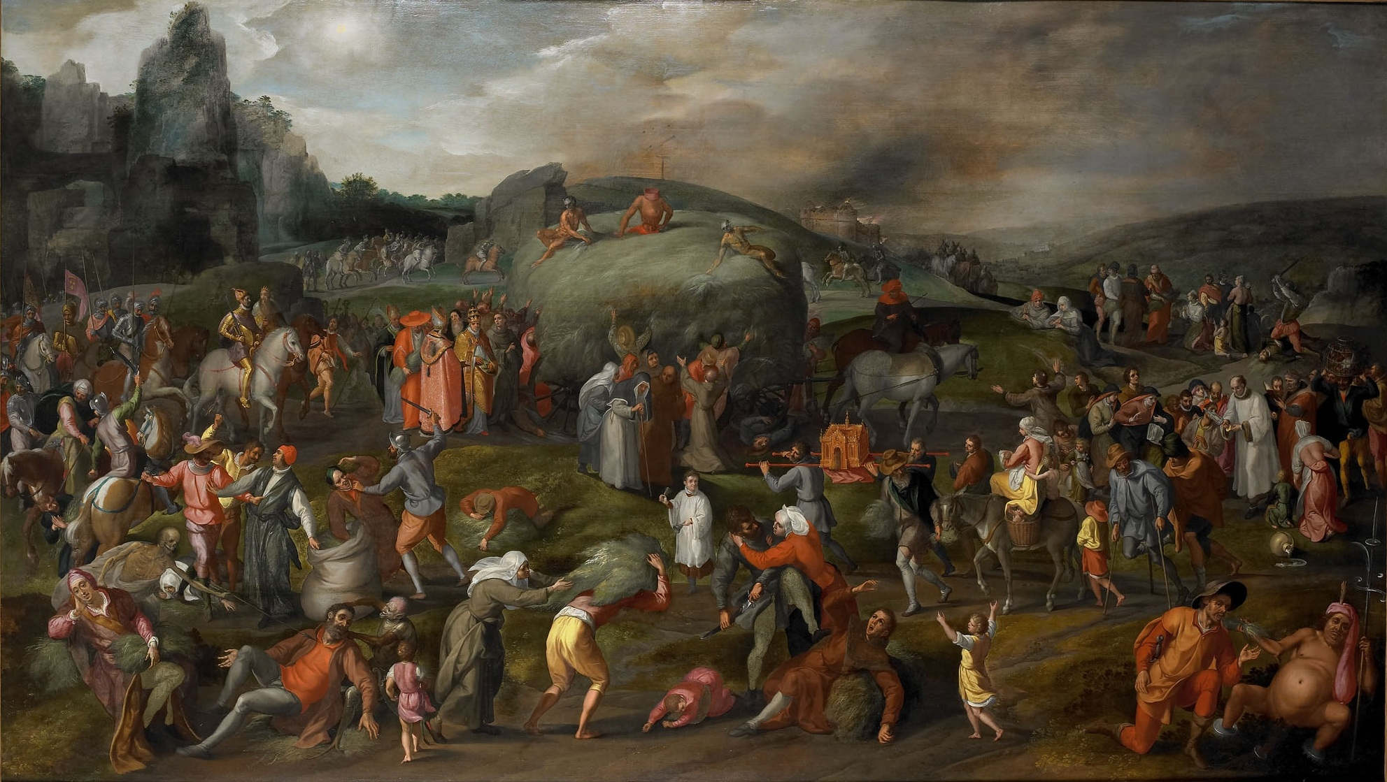 фламандская школа живописи: