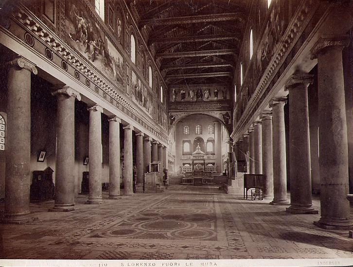 File:Anderson, Roma - n. 0110 - S. Lorenzo Fuori le Mura - Roma.jpg