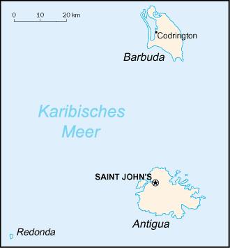 antigua karte Antigua und Barbuda – Reiseführer auf Wikivoyage