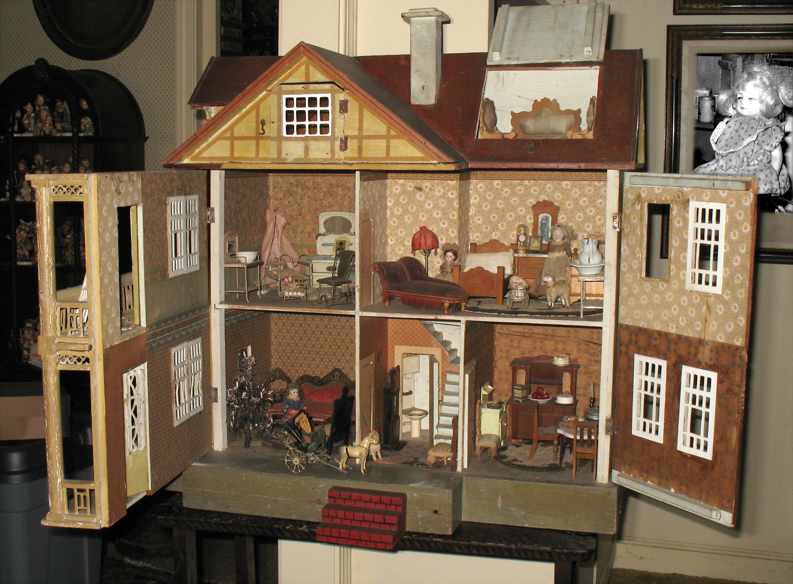 1000 images about doll house 39 s on pinterest doll houses. Black Bedroom Furniture Sets. Home Design Ideas