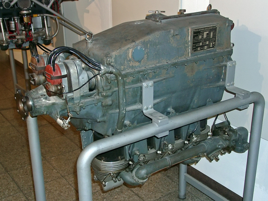 Argus As on Inline 4 Cylinder Engine