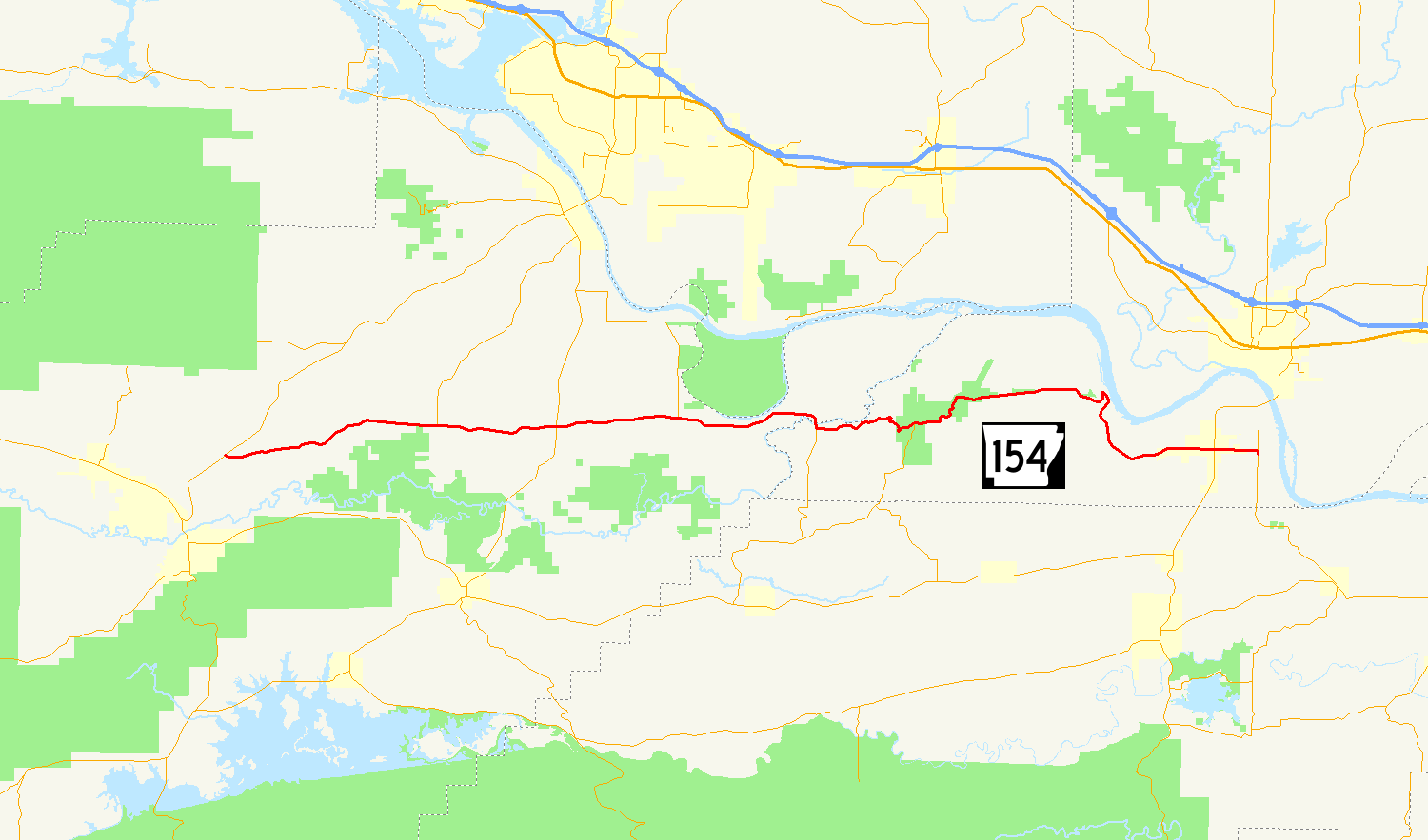 Arkansas Highway 154 - Wikipedia
