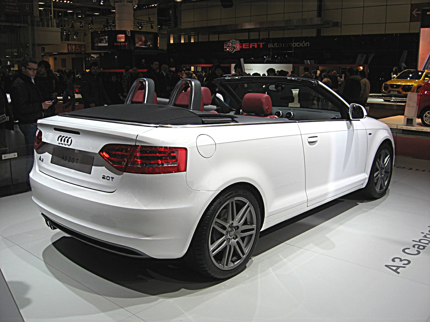 File Audi A3 Cabriolet Rear View Jpg Wikimedia Commons
