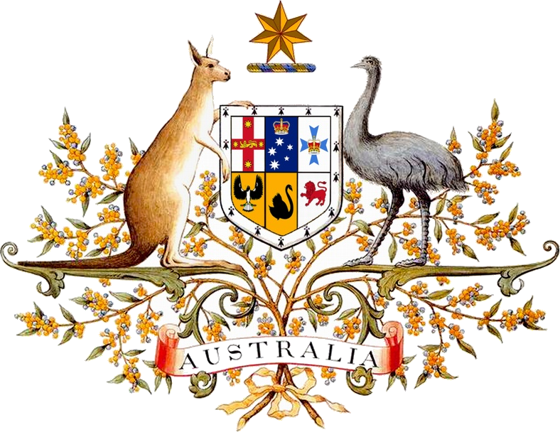 Image result for Australia's coat of arms