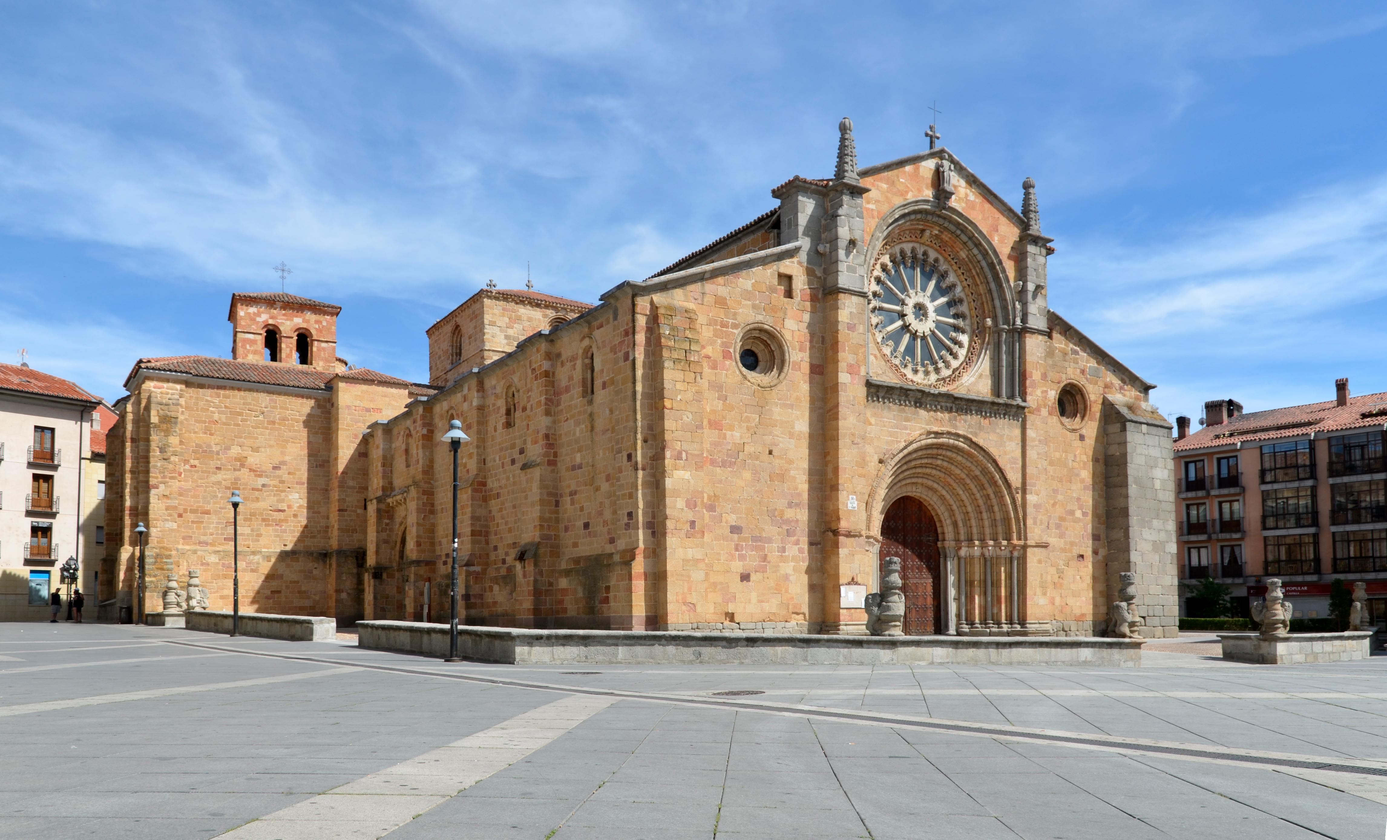 Iglesia de San Pedro (Ávila) - Wikipedia, la enciclopedia libre