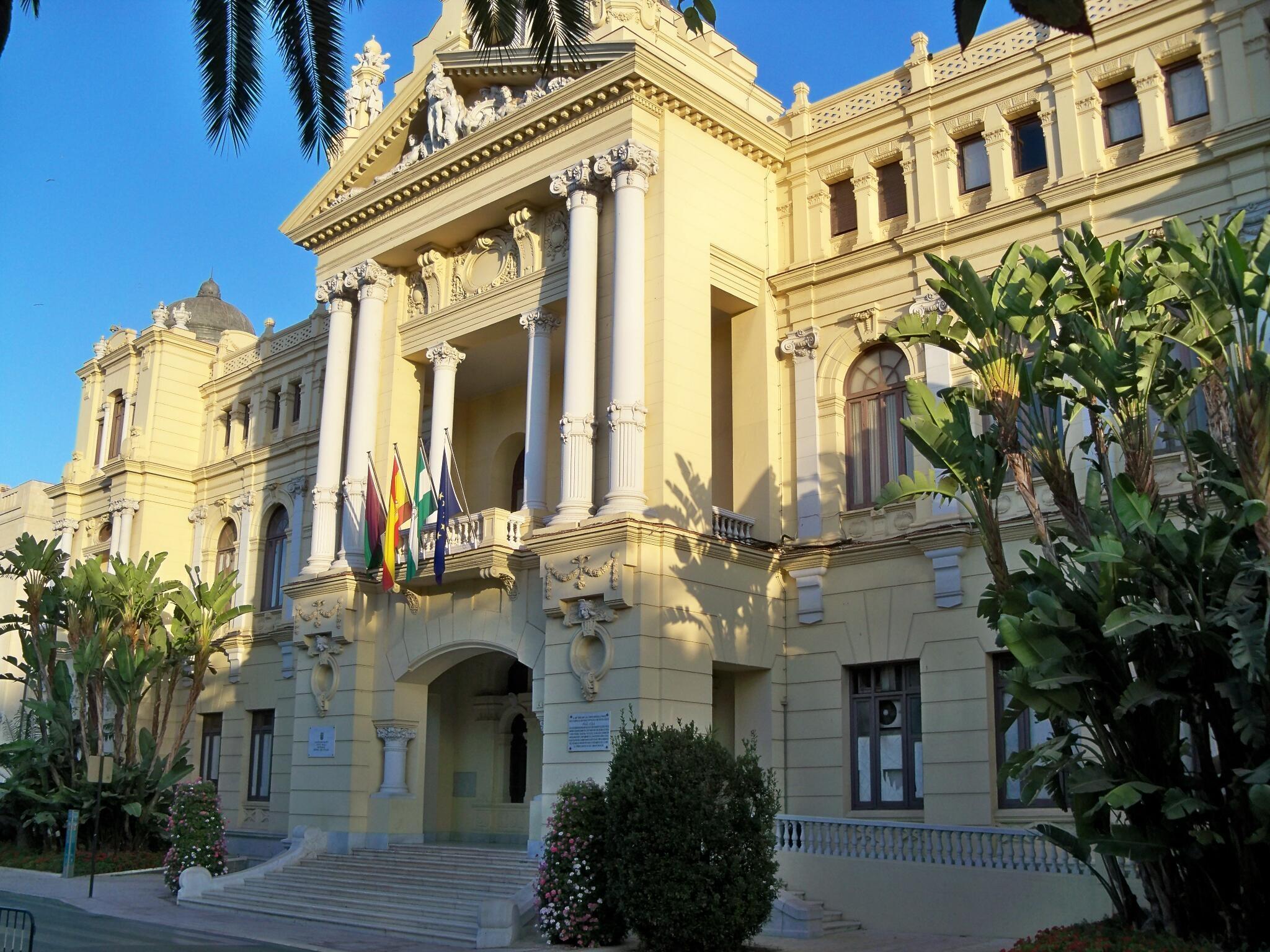 Ayuntamiento de Málaga - Wikipedia, la enciclopedia libre