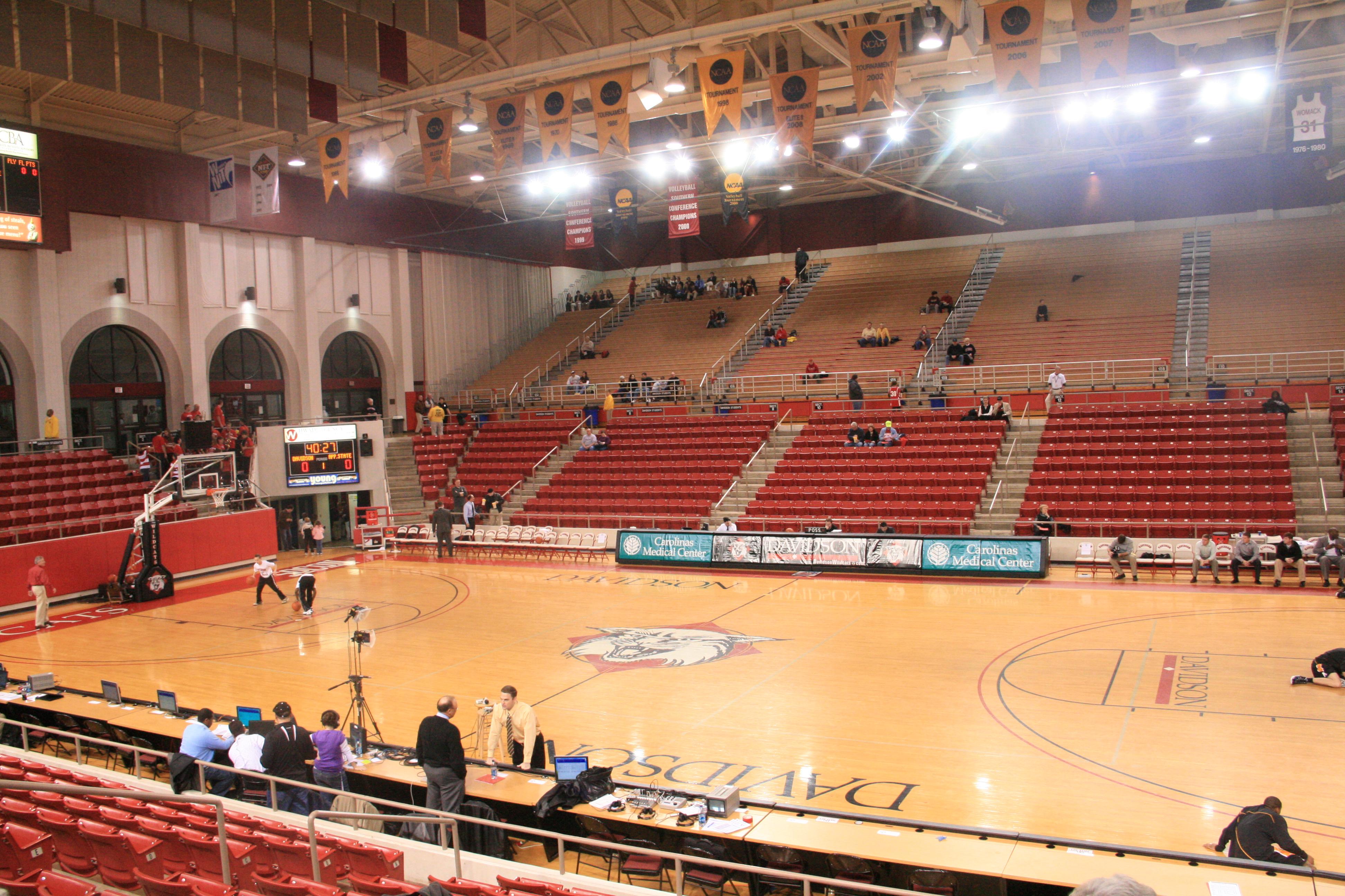 John M  Belk Arena - Wikipedia