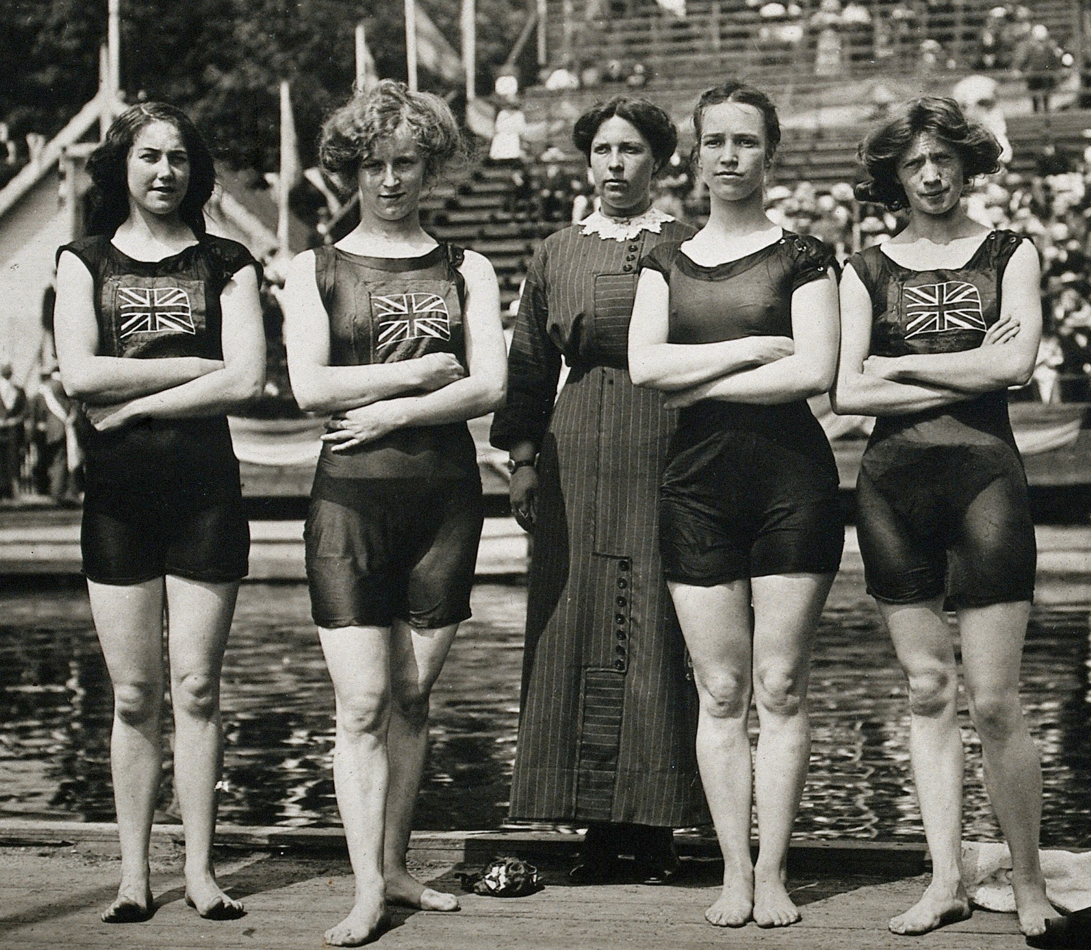 Swimming at the 1912 Summer Olympics – Women's 4 × 100 metre freestyle  relay - Wikipedia