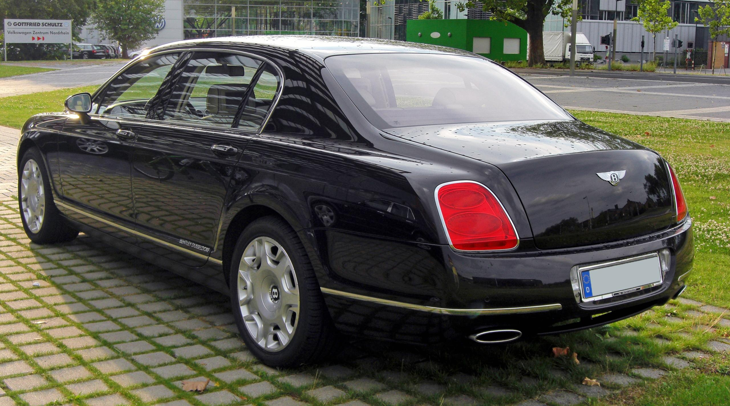 File:Bentley Continental Flying Spur Facelift 20090706 ...