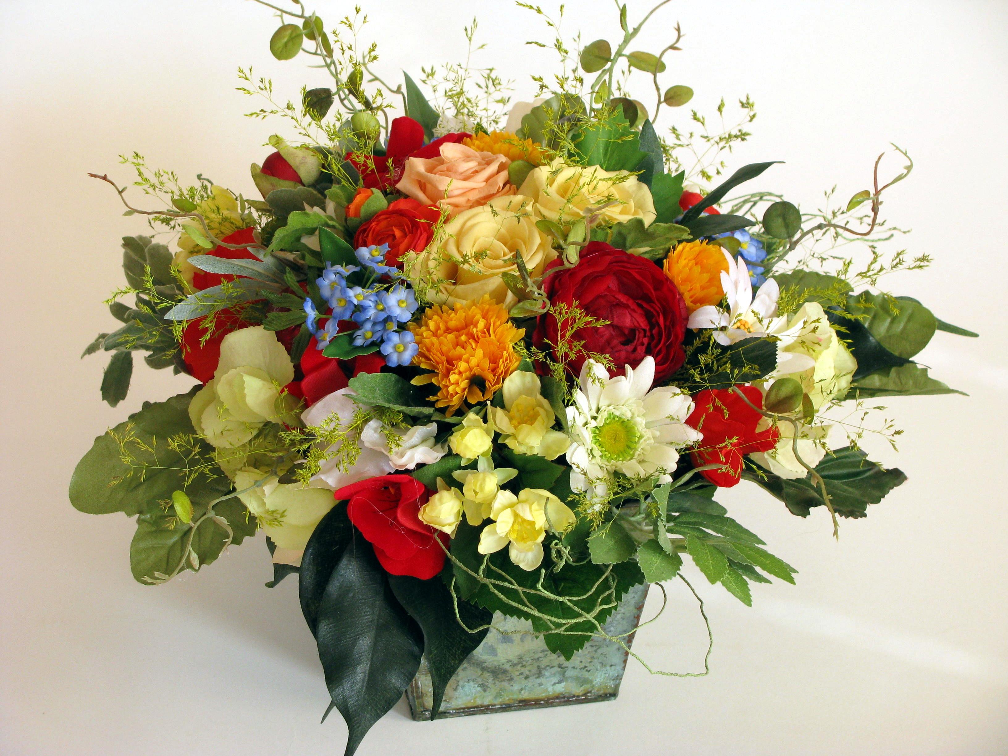 Фото цветочных композиций в бокале