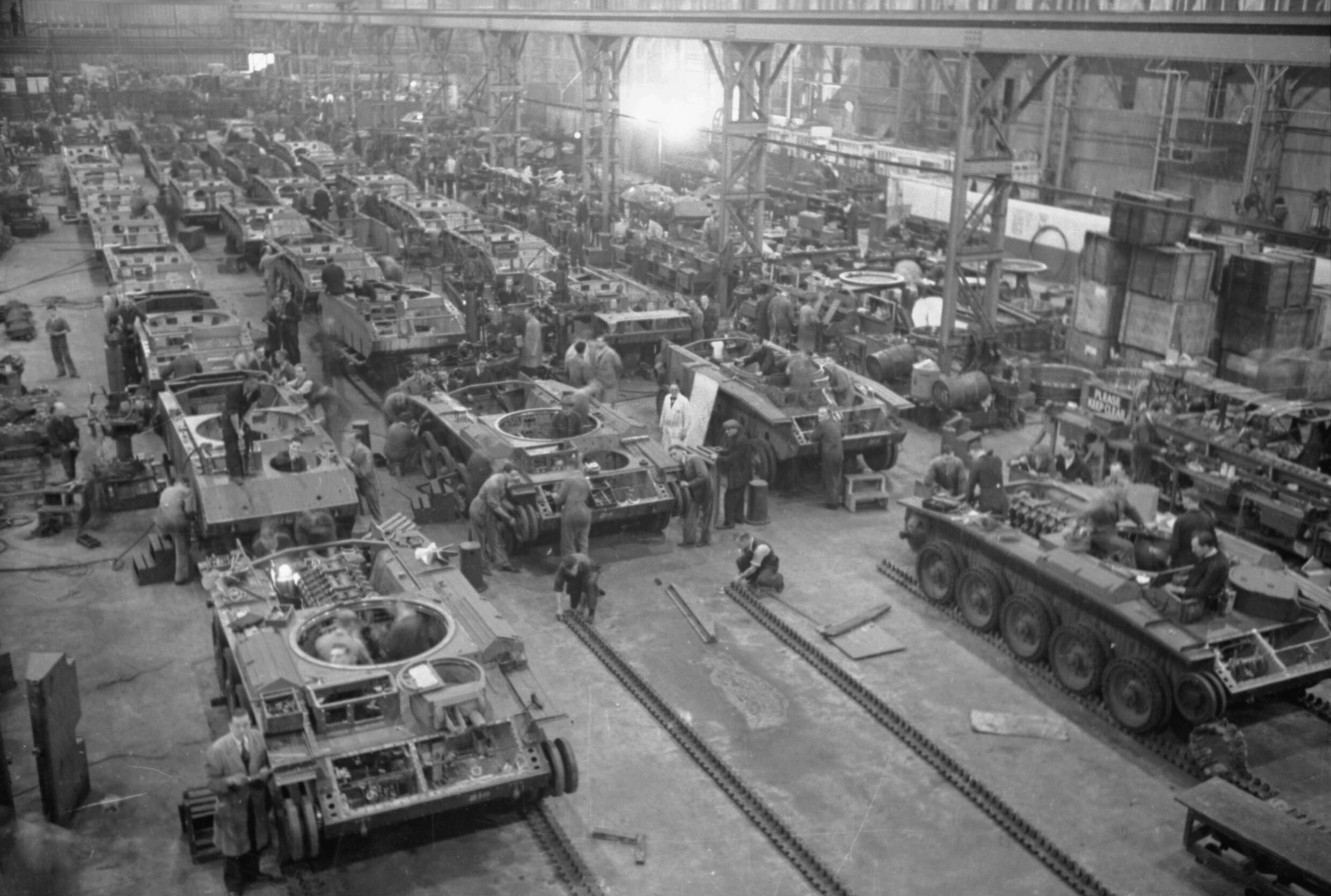 File Birth Of A British Tank Tank Production In England