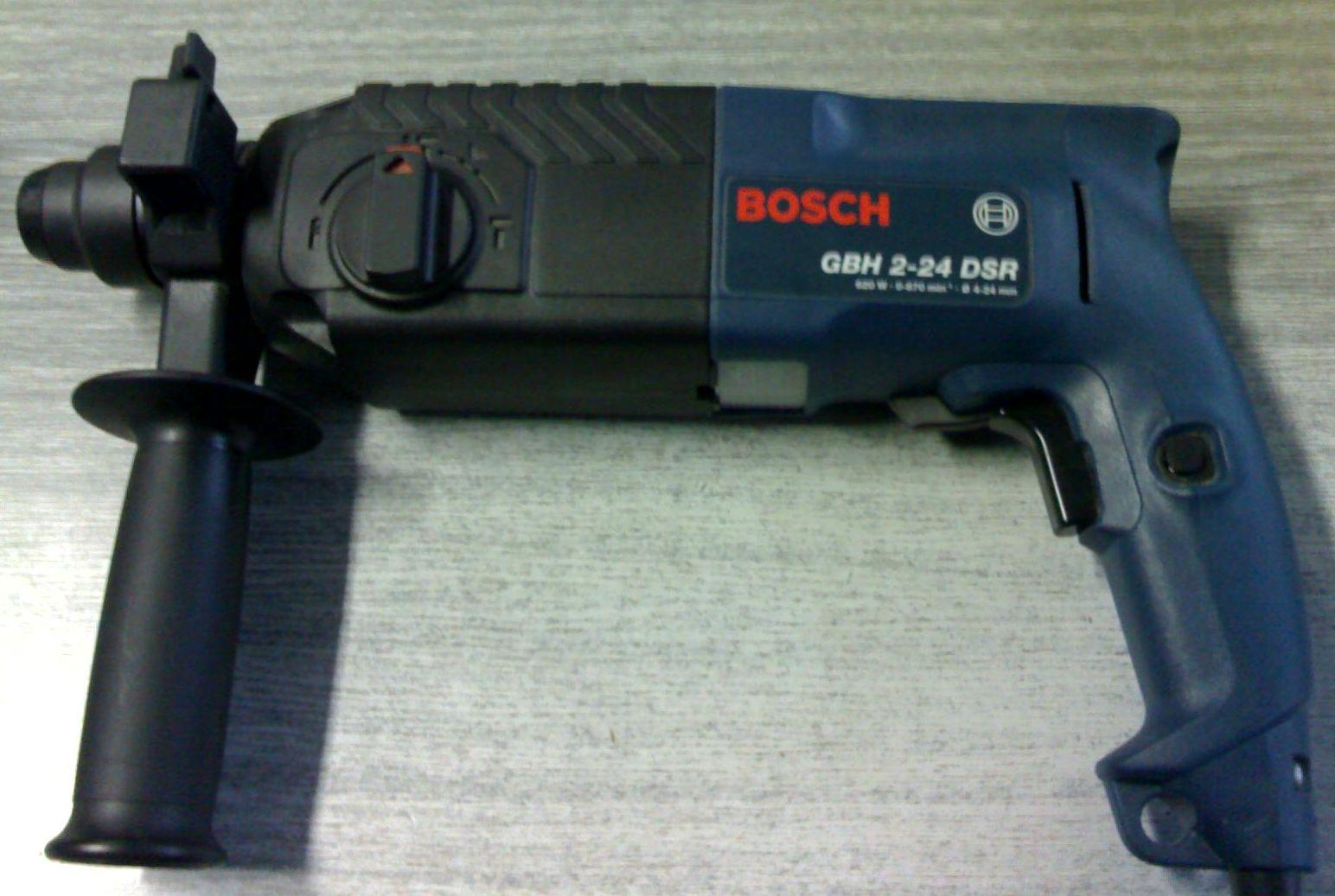 перфораторы bosch gbh2 24dsr
