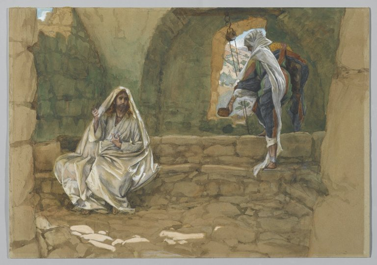 Brooklyn Museum - The Woman of Samaria at the Well (La Samaritaine à la fontaine) - James Tissot - overall