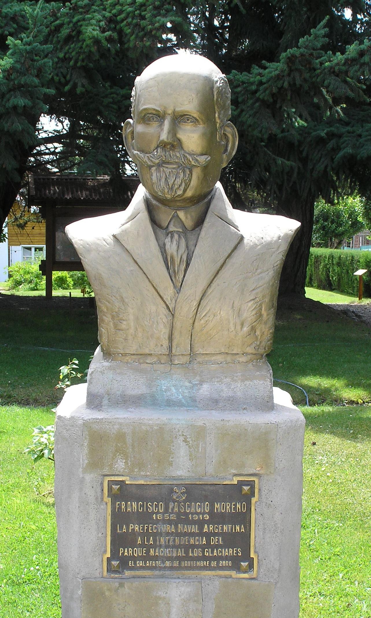 file busto del perito moreno jpg wikimedia commons