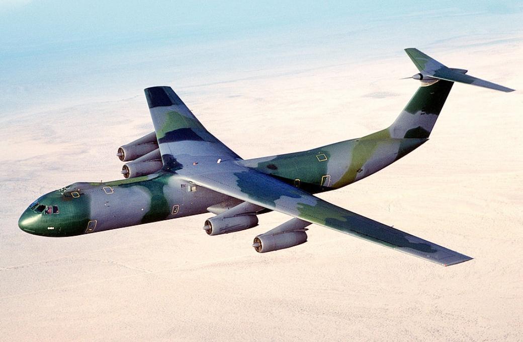C-141 In flight