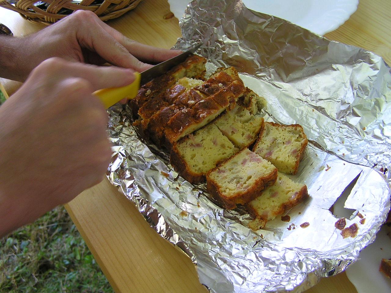 Cheese Cake Jambon Serrano Marmiton