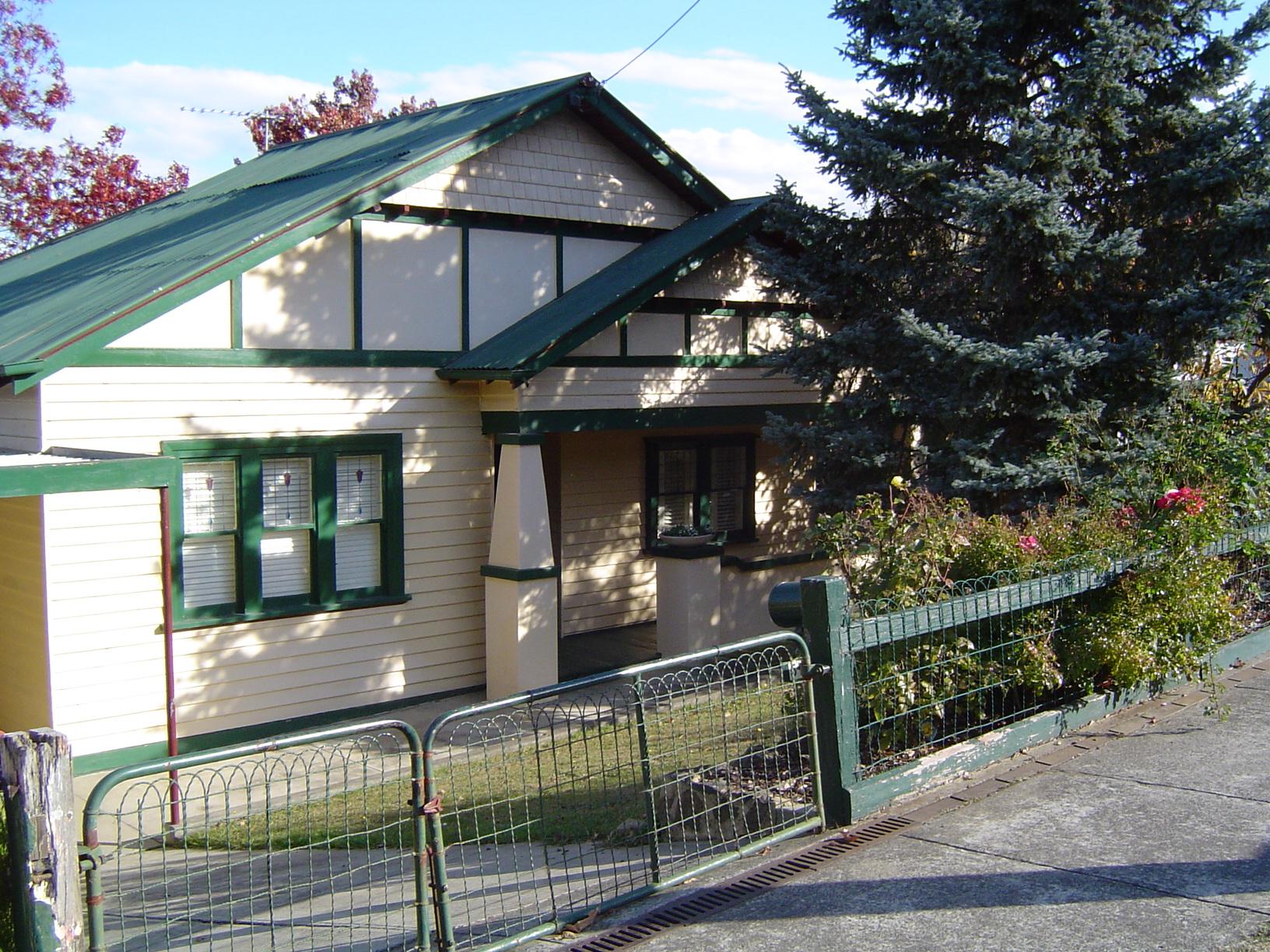 File Californian Bungalow Style House In Preston