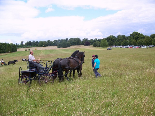 Carriage Driving at Kingston Lacy - geograph.org.uk - 884470