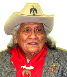 Charles Chibitty, Comanche code talker in World War II