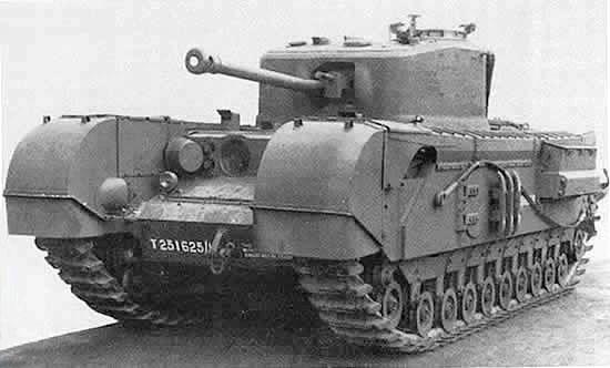 Churchill Mk.VII - Credits : Wikipedia