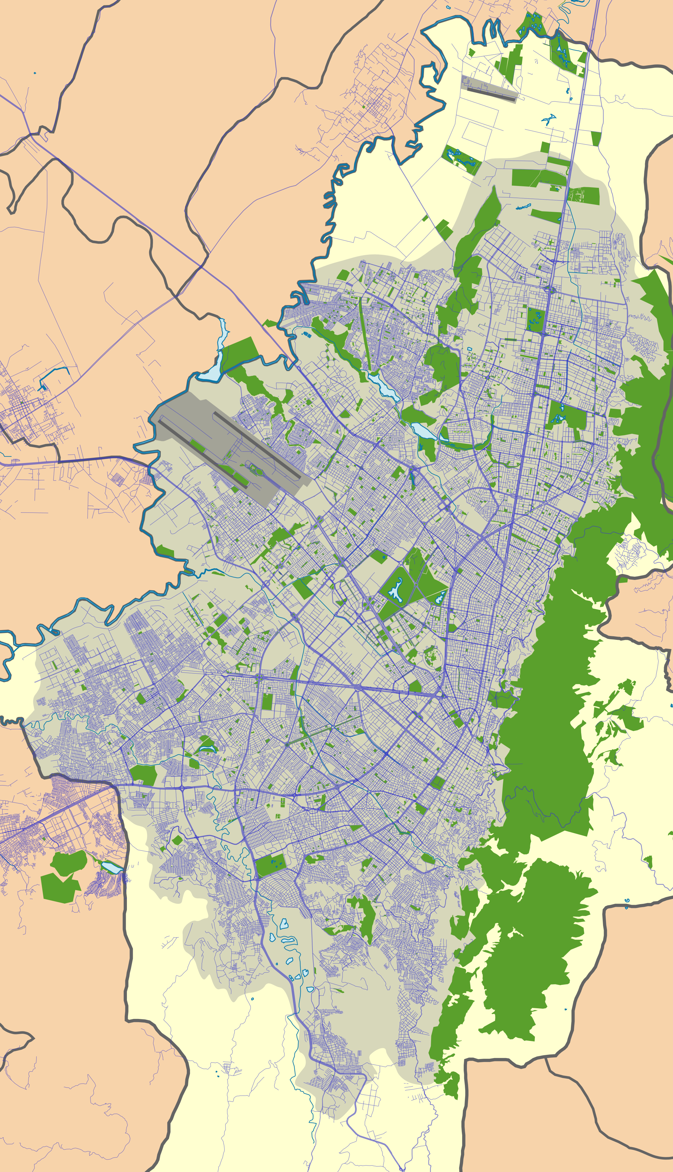 File:Colombia Bogotá location map.png - Wikipedia
