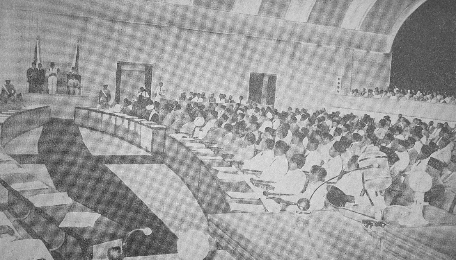 President Sukarno President Sukarno Gives His