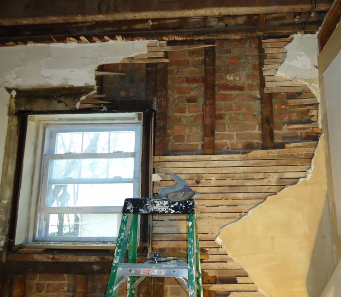 Demolition Kitchen Walls