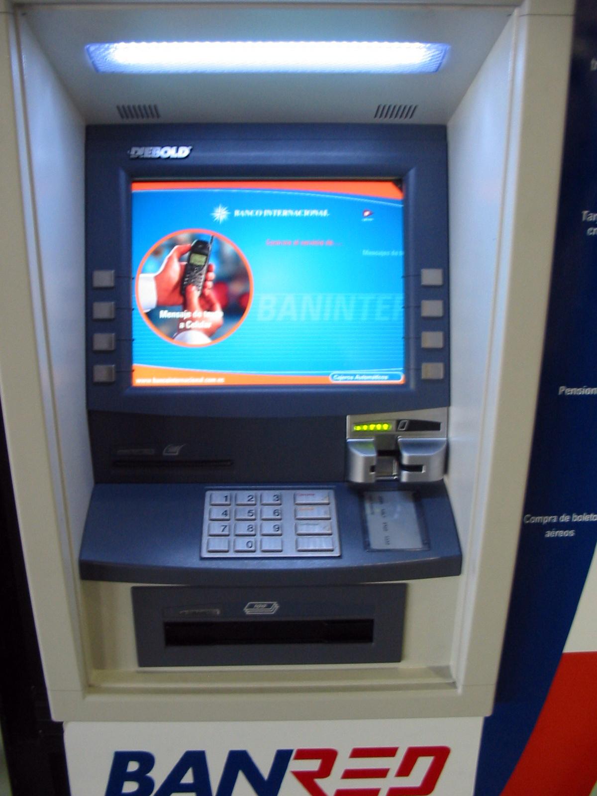 File diebold opteva 562 banco internacional close for Banco internacional