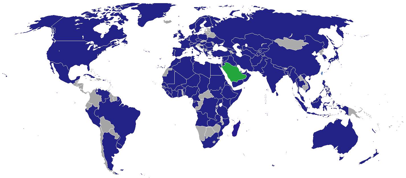 List of diplomatic missions in Saudi Arabia - Wikipedia