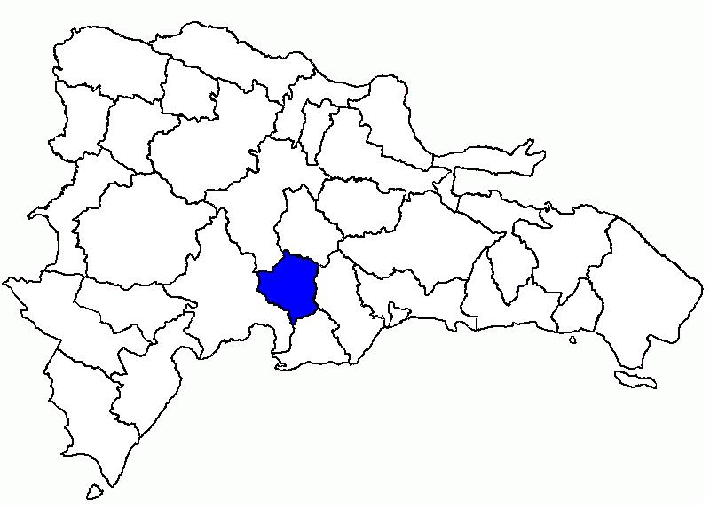 San José de Ocoa en la República Dominicana